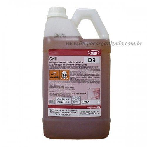 Suma Grill - Detergente Desincrustante Alcalino  - Limpo e Organizado