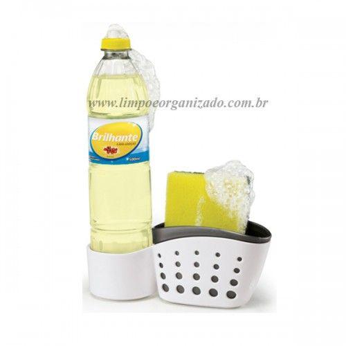 Suporte para Detergente e Esponja  - Limpo e Organizado