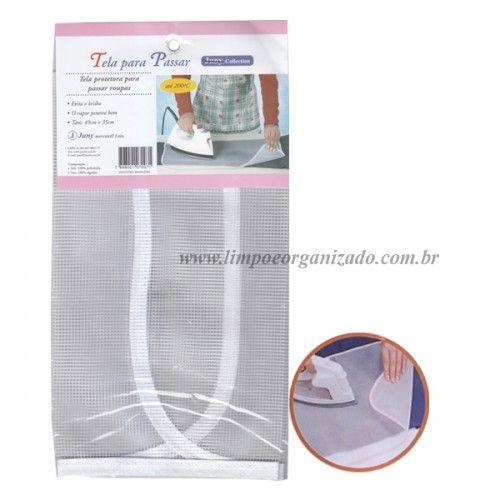 Tecido Anti-brilho de Roupas  - Limpo e Organizado
