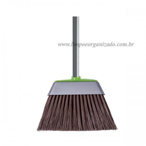 Vassoura Casa e Rua - Refil  - Limpo e Organizado