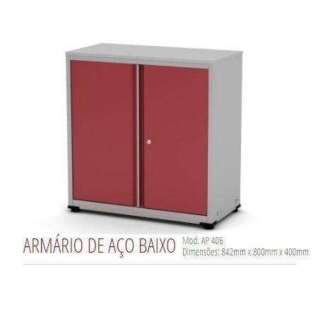 Armário de Aço Baixo 2 Portas AP 406SL