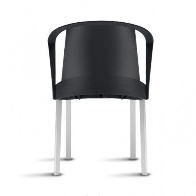 Cadeira Shine com Braço - Kit com 4 unidades