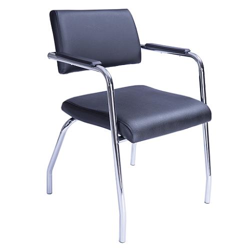 Cadeira Izzi Fixa 4 Pés Cromada