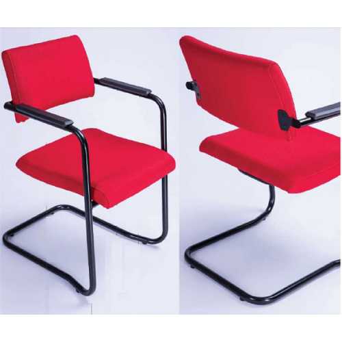 Cadeira Izzi Fixa Contínua - Kit com 2 unidades