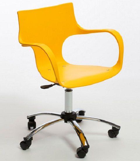 Cadeira Jim Giratória Cromada
