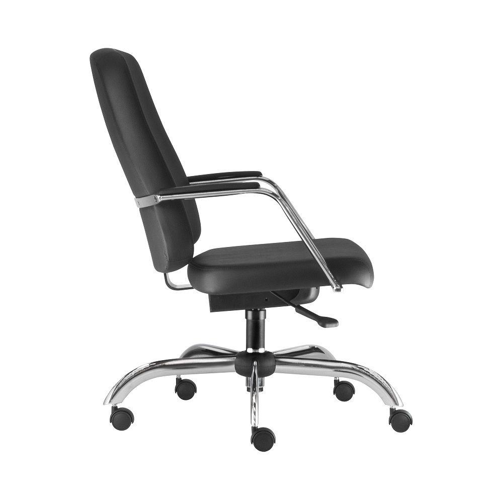 Cadeira Maxxer Giratória Cromada - Capacidade para 150kg