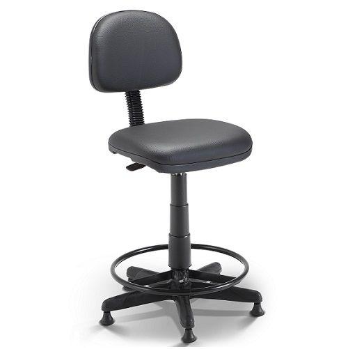 Cadeira Operativa Secretária Plus Slim Tipo Caixa
