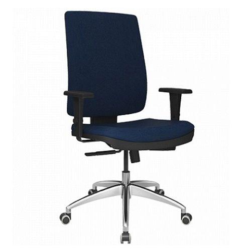 Cadeira Presidente Brizza Soft Base Alumínio