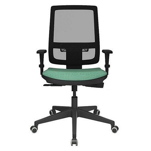 fc362aa7a Cadeira Presidente Brizza Tela Base Nylon