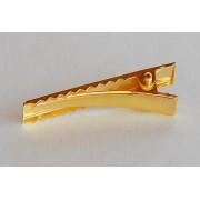Bico de Pato Dourado 4,5cm / 5,5cm - 50 unidades