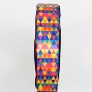 Fita de Cetim Geométrica Gitex - 5/22mm - 10m