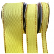 Fita Jeans Pespontada Sinimbu Amarelo 10mm/22mm/38mm - 10 metros