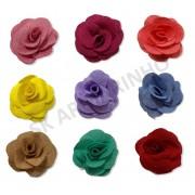 Flor de Tecido 6cm - 2 unidades