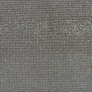 Micro Manta de Strass Prata Termocolante  10x32 cm