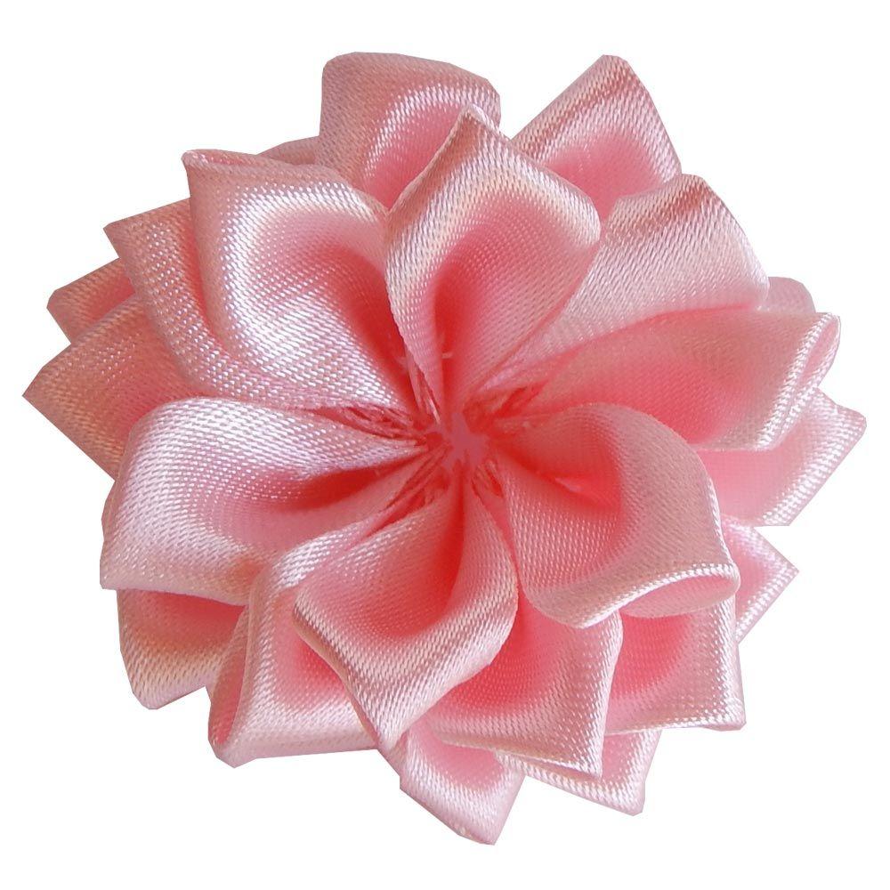 Aplique - Flor de Cetim 5 cm / 2 un