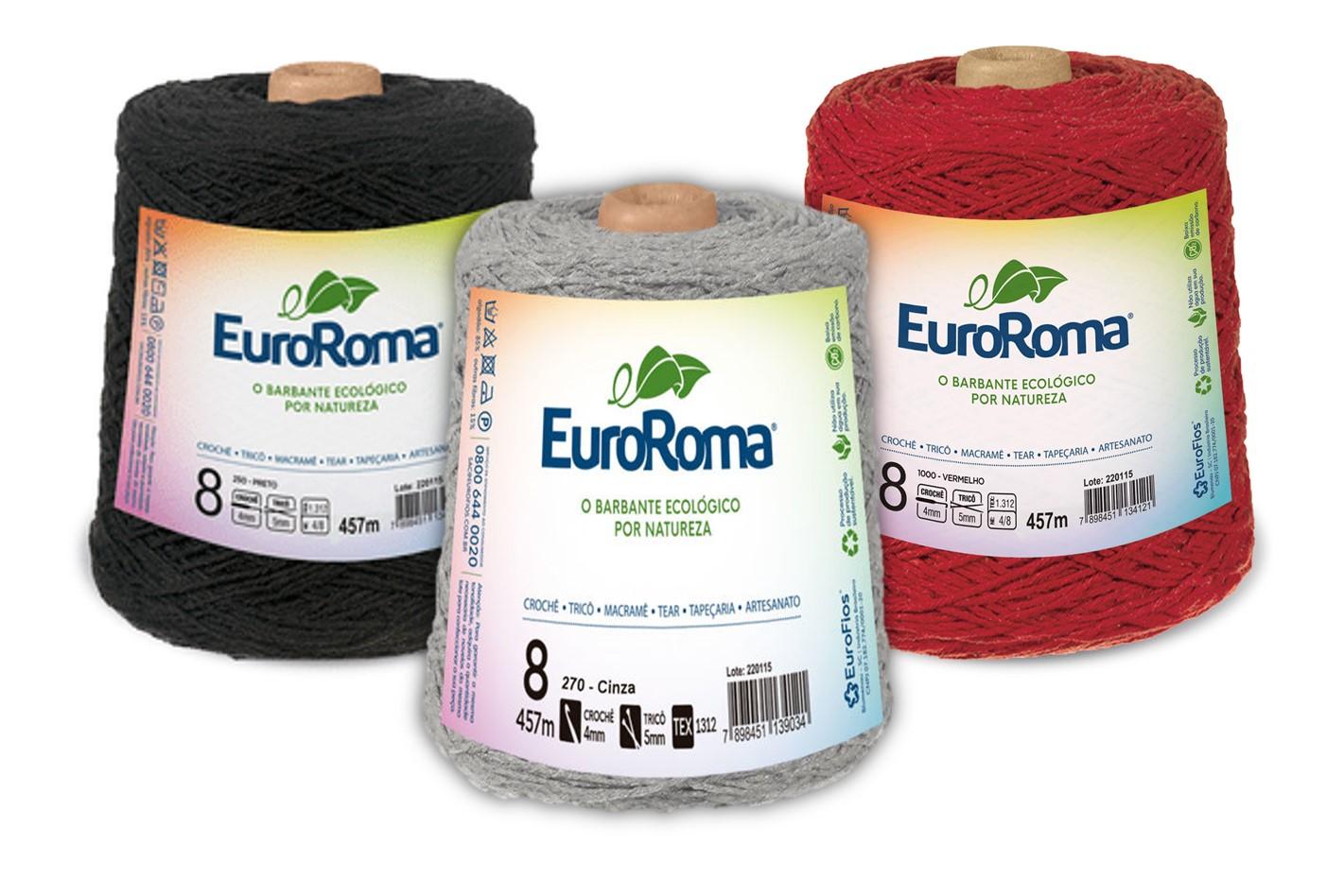 Barbante EuroRoma 4/8 - 600g