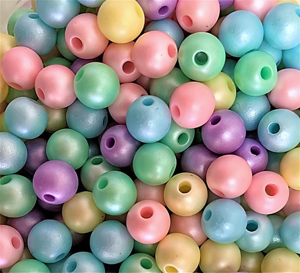 Bola Fosca Candy Color 8mm - 25g