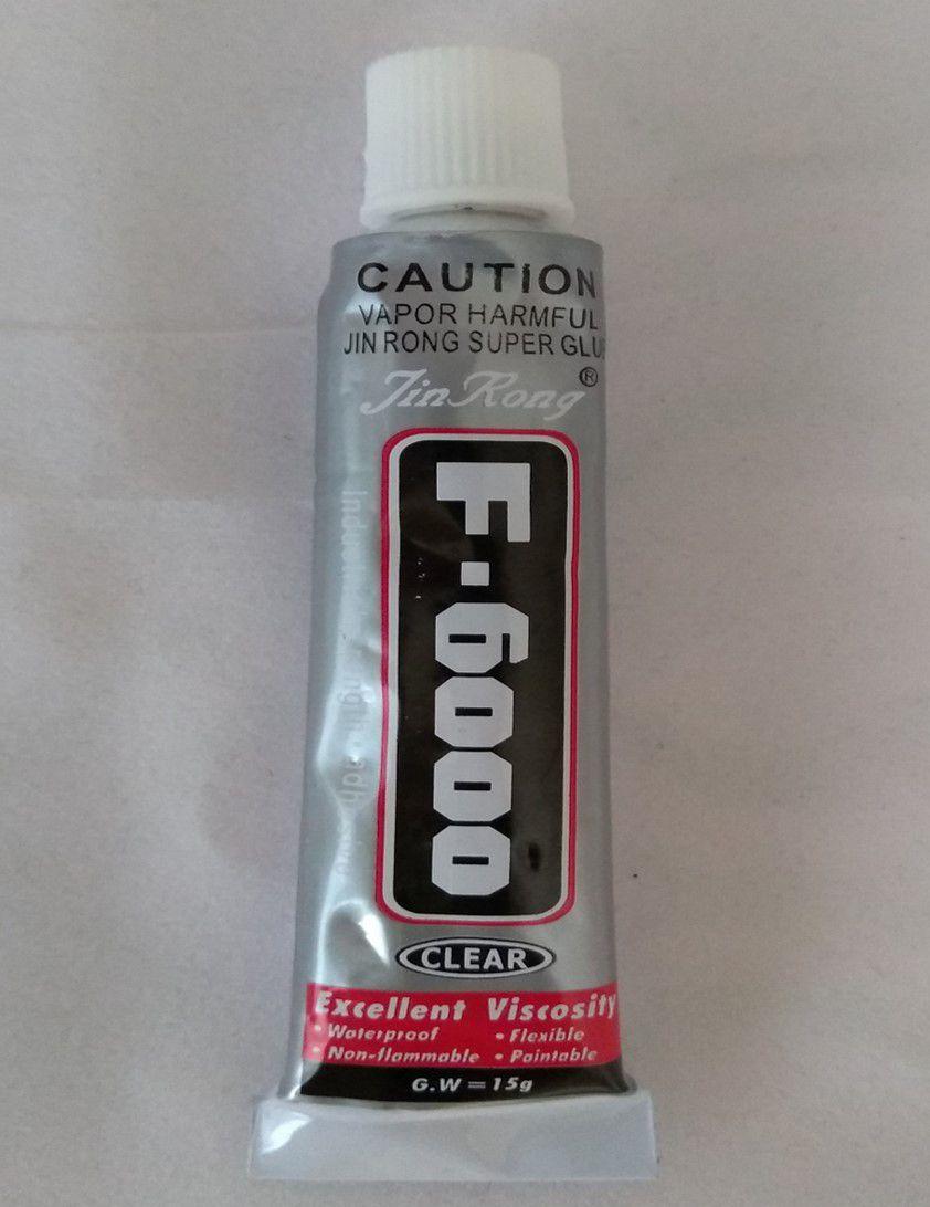 Cola F6000 Clear 15gr unidade