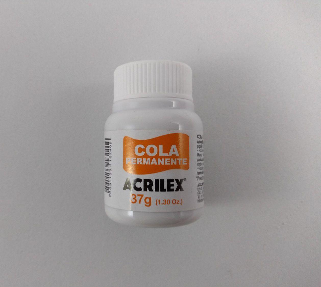 Cola Permamente Acrilex 37g unidade