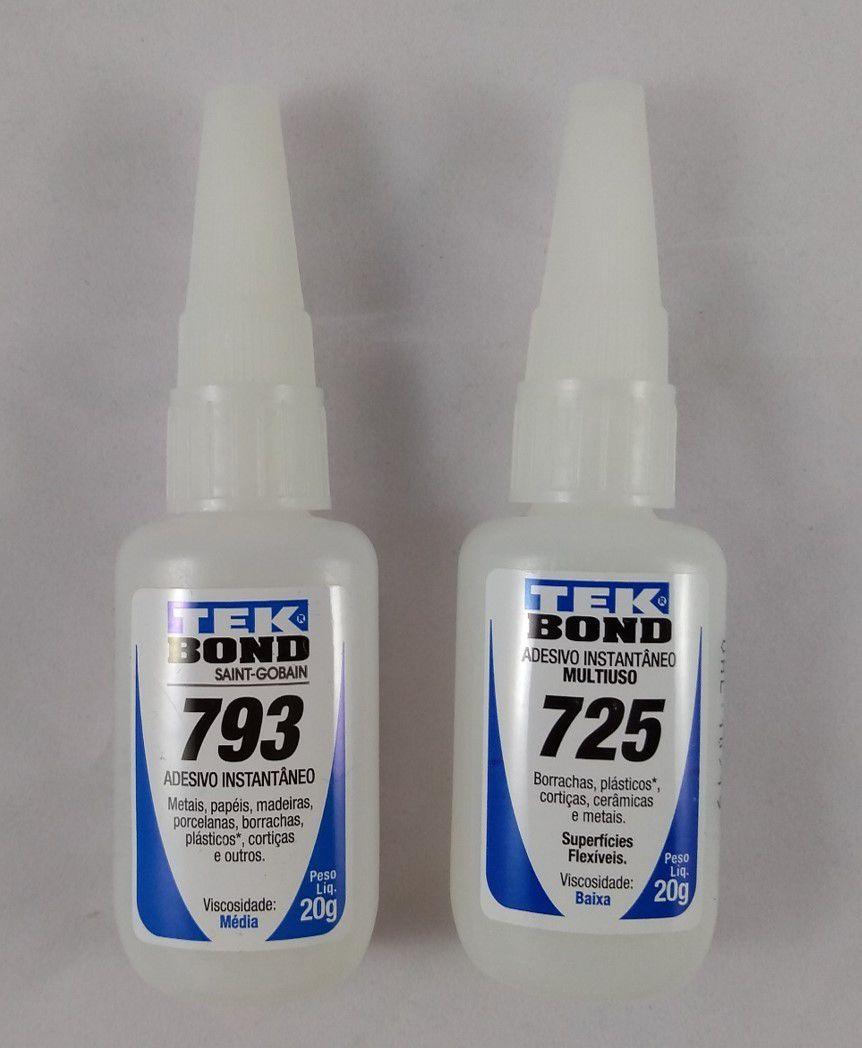 Cola Tek Bond 20gr 725 e 793 Unidade
