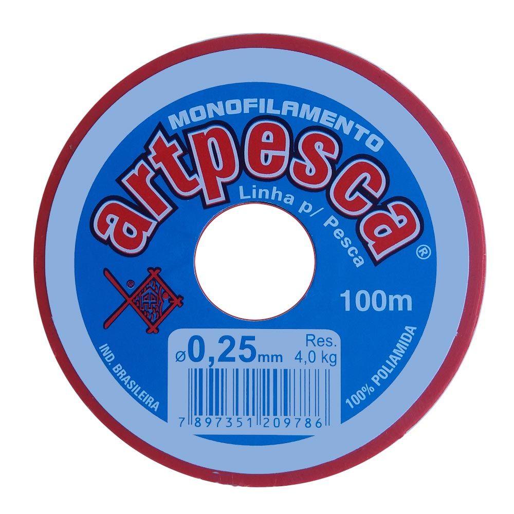 Fio de Nylon - 0,25mm / 100m