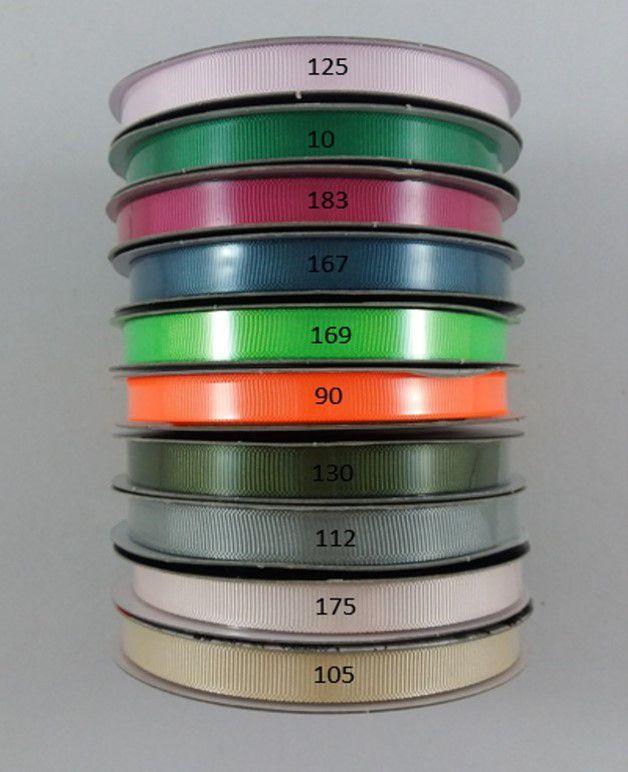 Fita de Gorgurão Aquarela - 2/10mm - 10m