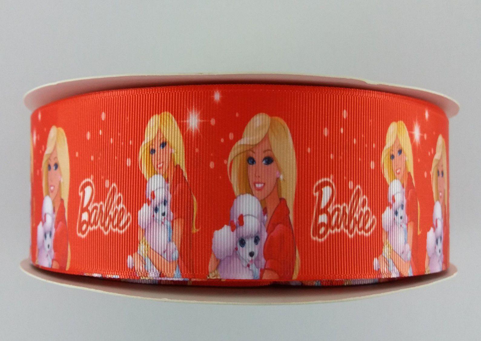 Fita de Gorgurão Sanding Barbie 9/38mm - 3 metros