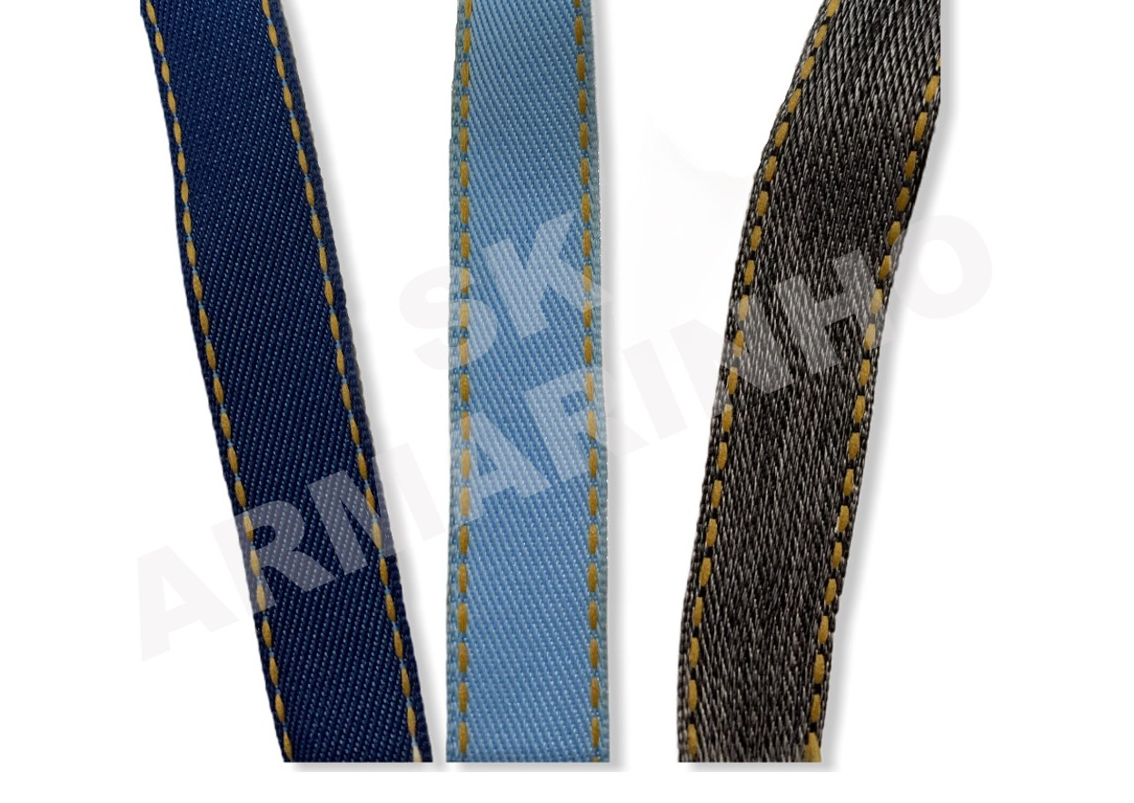 Fita Jeans Pespontada Sinimbu 2/10mm -  10 Metros