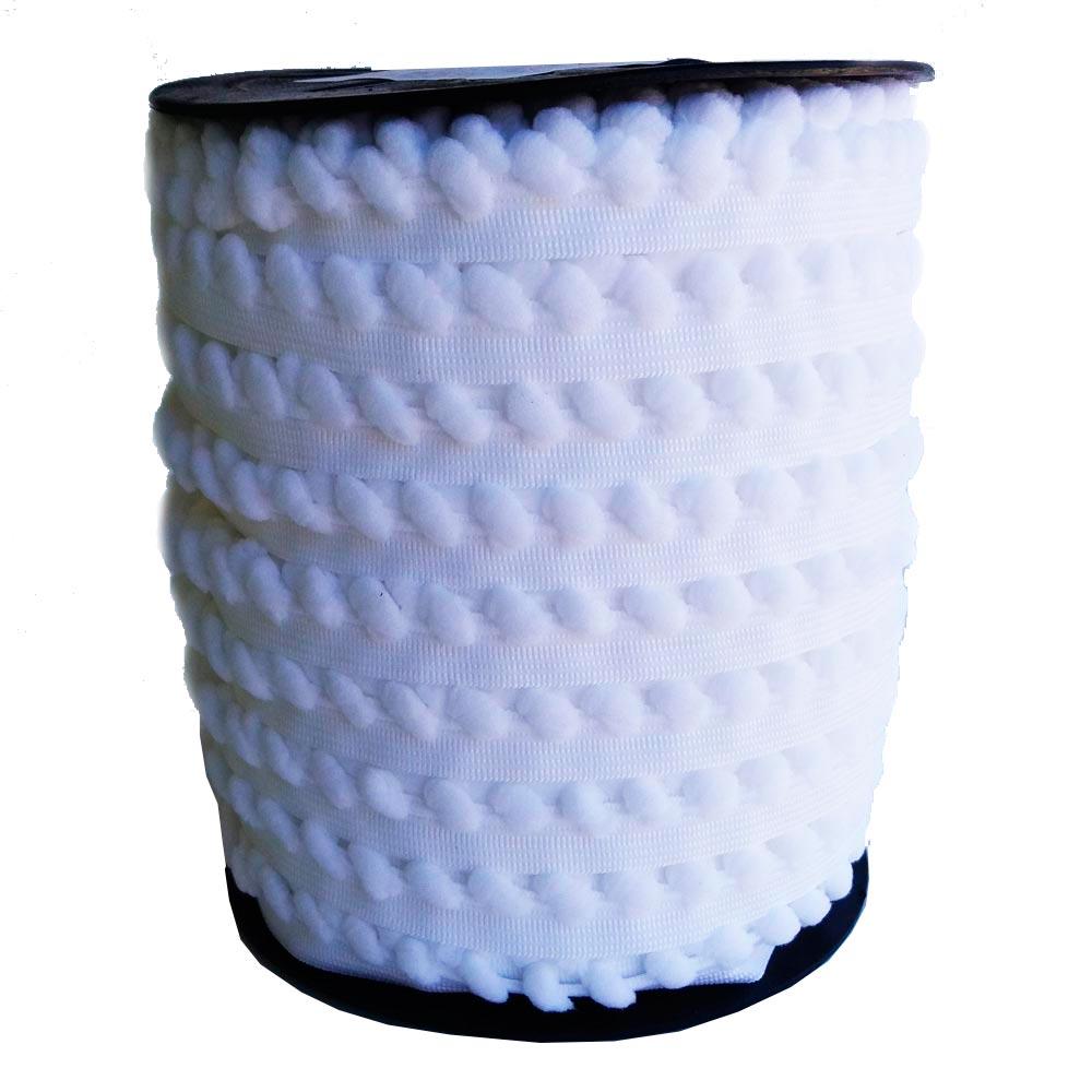 Fita Elástica Estrela Bilbão Branca 16mm - 5m