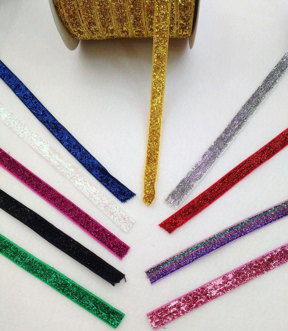 Fita Sintetica Glitter 2/10mm - 3 metros