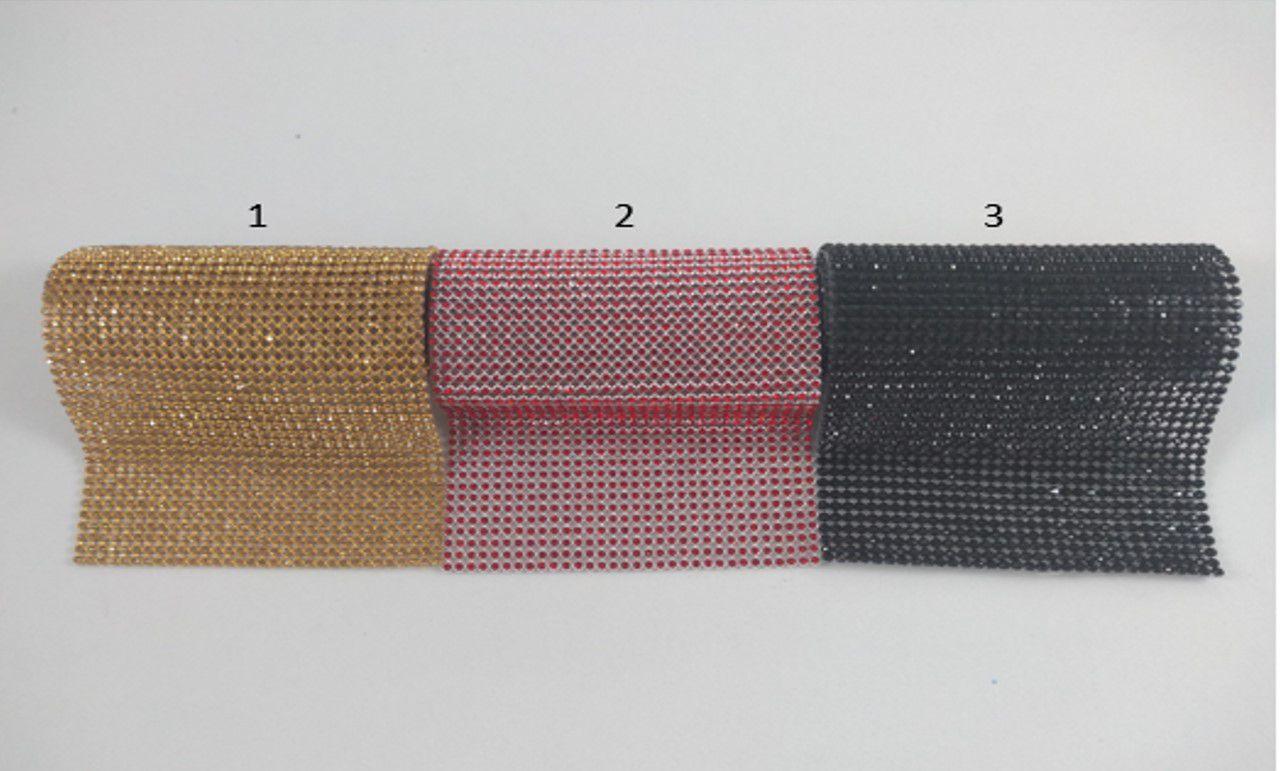 Manta de Strass Termocolante 10 x 40 cm