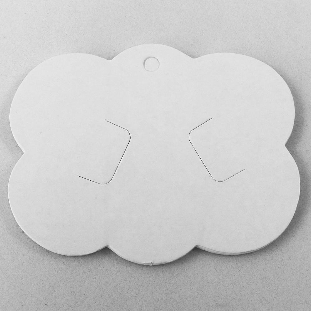 Tag Nuvem Para Bico de Pato e Laços - 09 x 7,5cm - 25U