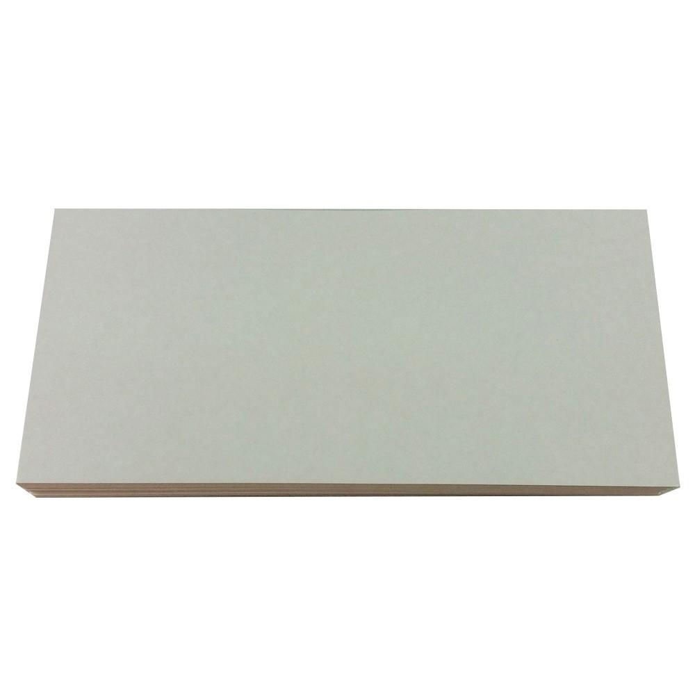 Tag Retângulo Papelão para Faixas e Laços - 07 x 14cm - 25U
