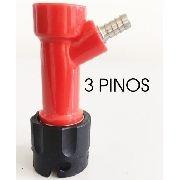 Kit De Conectores Pin Lock - Espigao 1/4