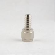 Conexão Espigão Reto 1/4 x 7/16 Inox Para Conector Pin Lock/Ball Lock Com Rosca