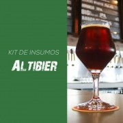 Kit de Insumos Receita Cerveja Artesanal Altbier