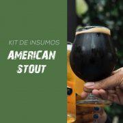 Kit de Insumos Receita Cerveja Artesanal American Stout