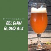 Kit de Insumos Receita Cerveja Artesanal Belgian Blond Ale