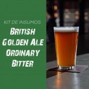 Kit de Insumos Receita Cerveja Artesanal British Golden Ale Ordinary Bitter