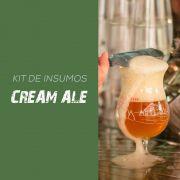 Kit de Insumos Receita Cerveja Artesanal Cream Ale