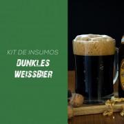 Kit de Insumos Receita Cerveja Artesanal Dunkles Weissbier