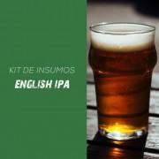 Kit de Insumos Receita Cerveja Artesanal English IPA