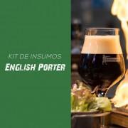 Kit de Insumos Receita Cerveja Artesanal English Porter