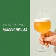 Kit de Insumos Receita Cerveja Artesanal Munich Helles