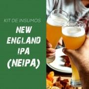 Kit de Insumos Receita Cerveja Artesanal New England IPA (NEIPA)