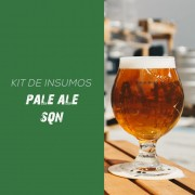 Kit de Insumos Receita Cerveja Artesanal Pale Ale - SQN