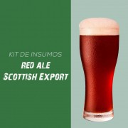 Kit de Insumos Receita Cerveja Artesanal Red Ale (Scottish Export)