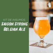 Kit de Insumos Receita Cerveja Artesanal Saison Strong Belgian Ale