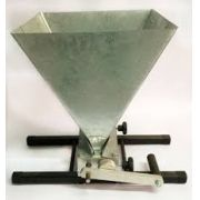 Moedor de 2 Rolos para Malte Completo (Base, Funil e Manivela)