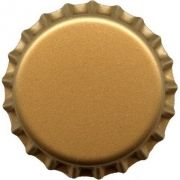 Tampinha Pry-Off - Dourada (100 Unid.)